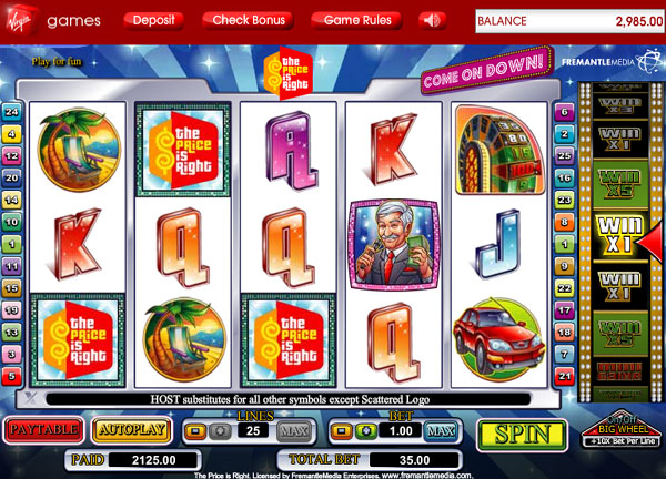 Best high limit slots in vegas